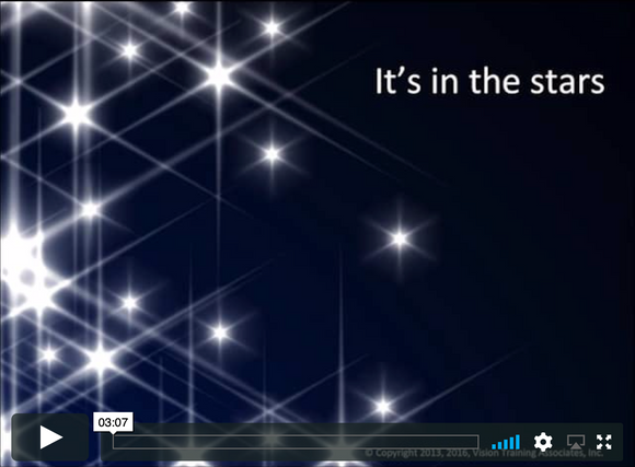 Video Short: It's In The Stars-Narrated Version (downloadable MP4)
