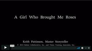 Video Short: A Girl Who Brought Me Roses (downloadable MP4)