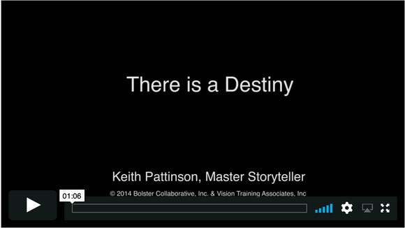 Video Short: There is a Destiny (downloadable MP4)
