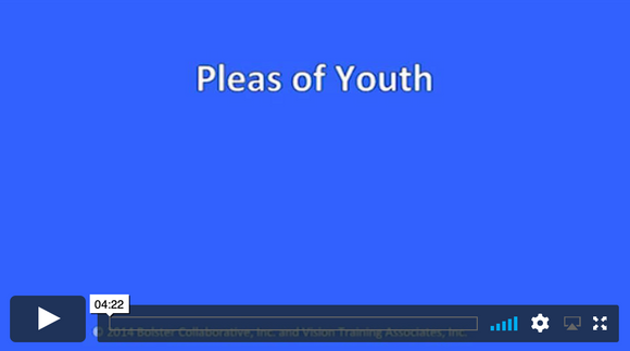 Video Short: Pleas of Youth (downloadable MP4)