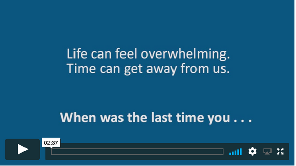Video Short: When Was the Last Time . . . . (downloadable MP4)