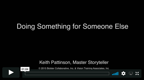 Video Short: Doing Something for Someone Else (downloadable MP4)