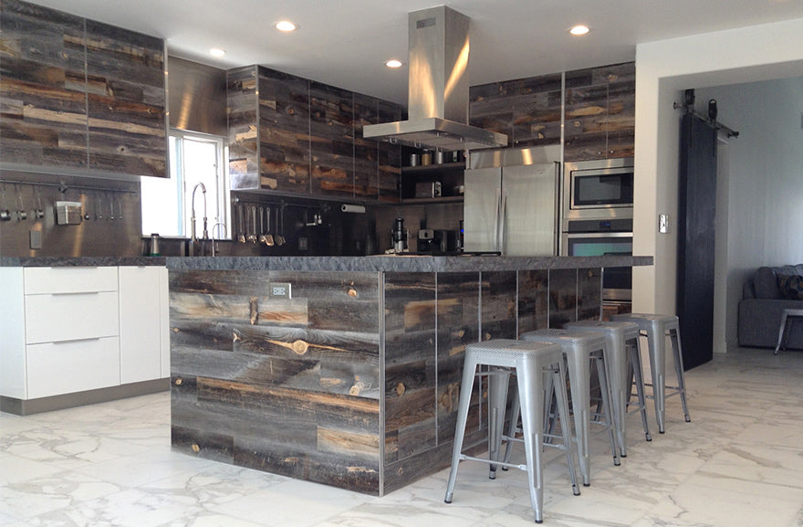 7 Reclaimed Wood Kitchen Ideas Stikwood Diy Wood Decor