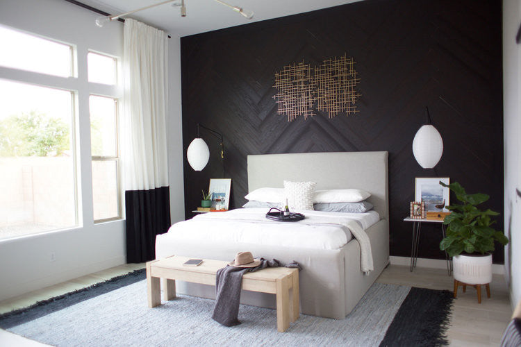 7 Bold Bedroom Ideas | DIY Designs | Stikwood Real Wood Walls