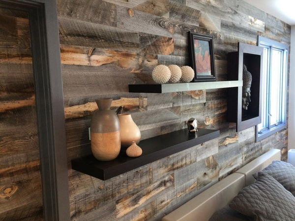 Reclaimed Weathered Wood White - Gallery