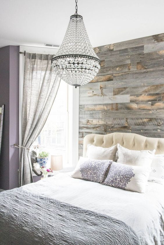 Superbe The Reclaimed Weathered Wood Finish Adds The Right Amount Of Contrast To  Really Tie The Whole Room Together.