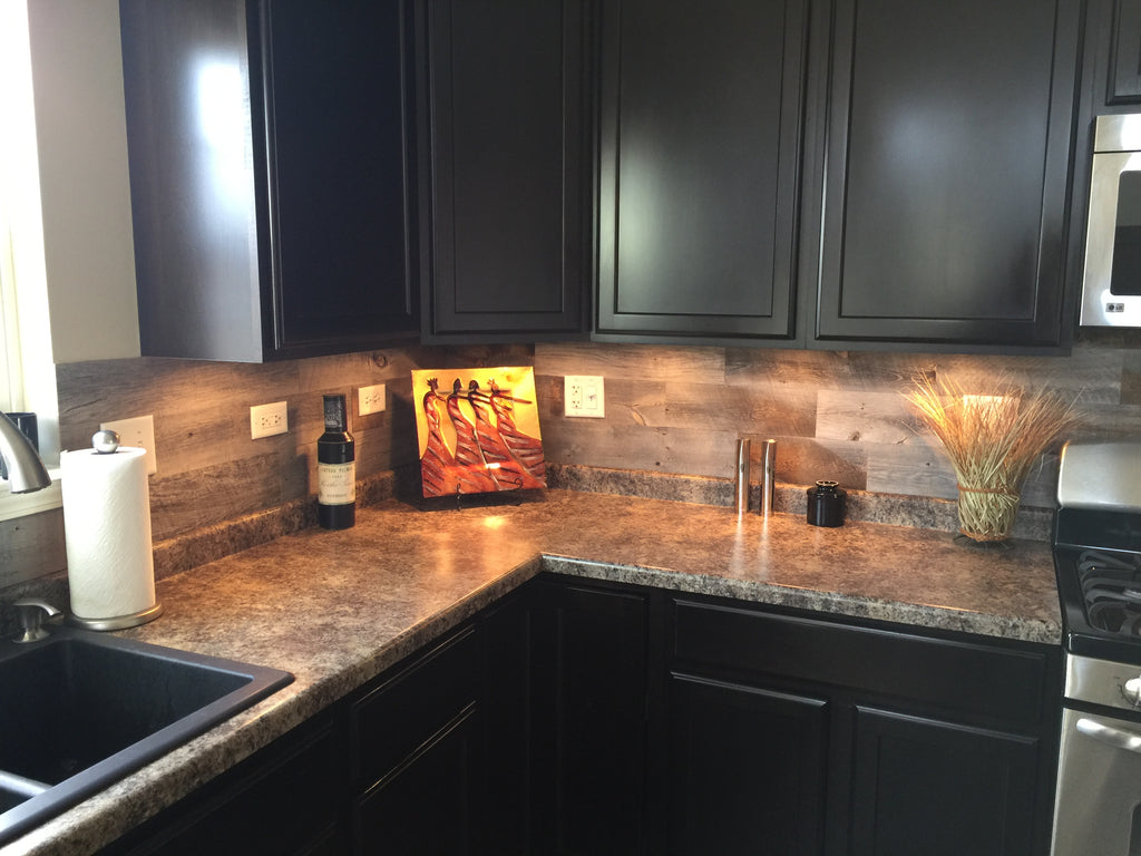 Spice Up Your Kitchen With A Peel And Stick Backsplash