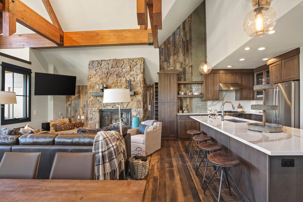 5 Crave-Worthy Reclaimed Wood Kitchen Walls