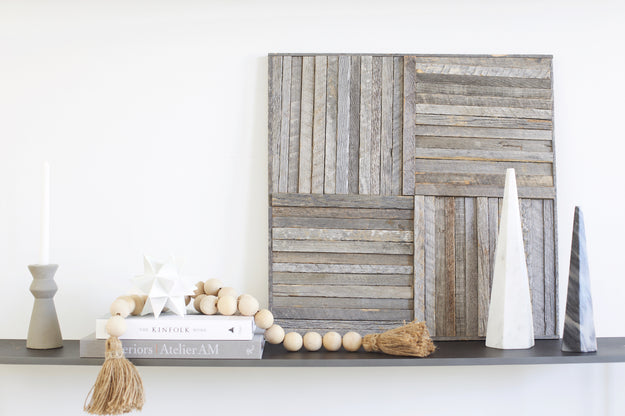 Stikwood Geometric Wood Wall Art