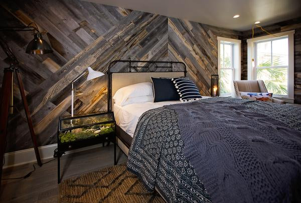 Peel And Stick Barnwood Wall Reclaimed Wood Wall Stikwood