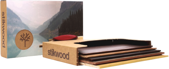 Give Stikwood a try. - Reclaimed Weathered Wood