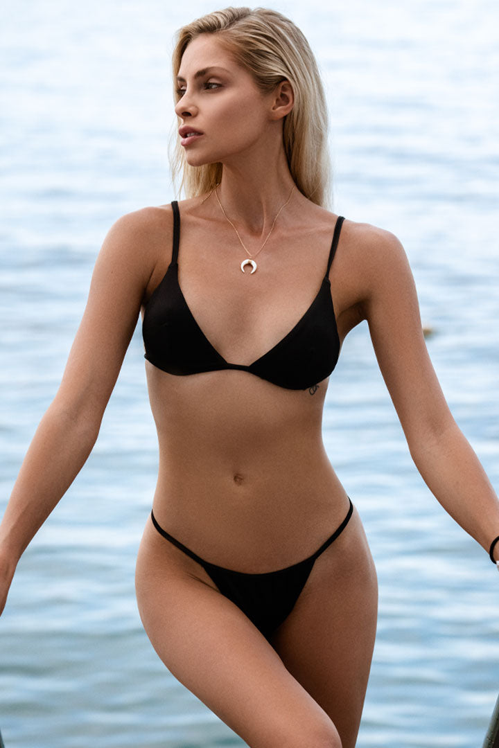 Góra od bikini Bali Black - Love and hate