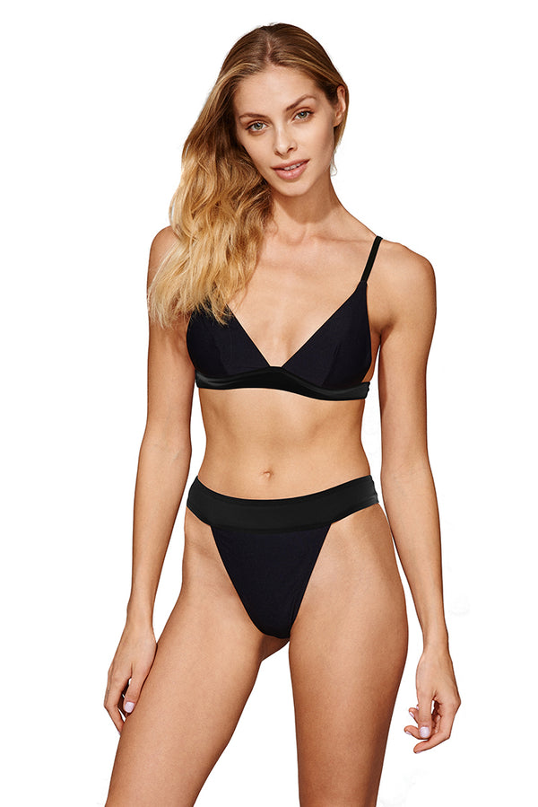 Dół od bikini Hawaii Black - Love and hate