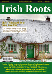 Irish Roots Magazine -  Digital Issue No 92