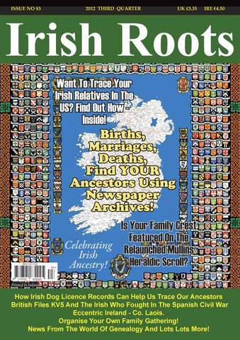 Irish Roots Magazine - Digital Issue No 83