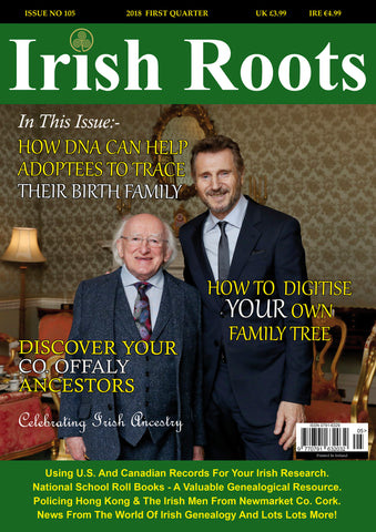 Irish Roots Magazine - Digital Issue No 105
