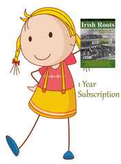 One Year Digital Subscription To Irish Roots Magazine (110-113 IFH)
