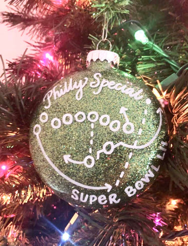 "Philadelphia Eagles ""Philly Special"" Ornament"