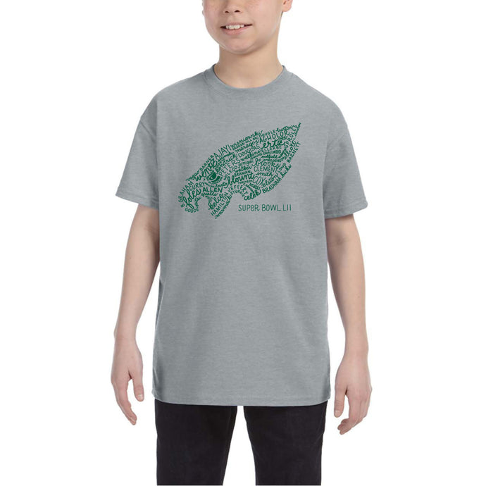 Extremely Limited Sizes IN STOCK NOW -- Philadelphia Eagles T-Shirt (Super Bowl LII team) - Kids' Sizes
