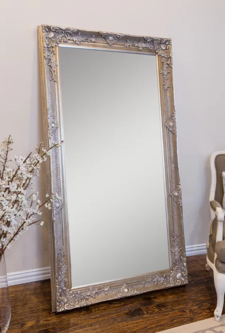 Seating Chart Mirror Rental: Champagne Gold Ornate