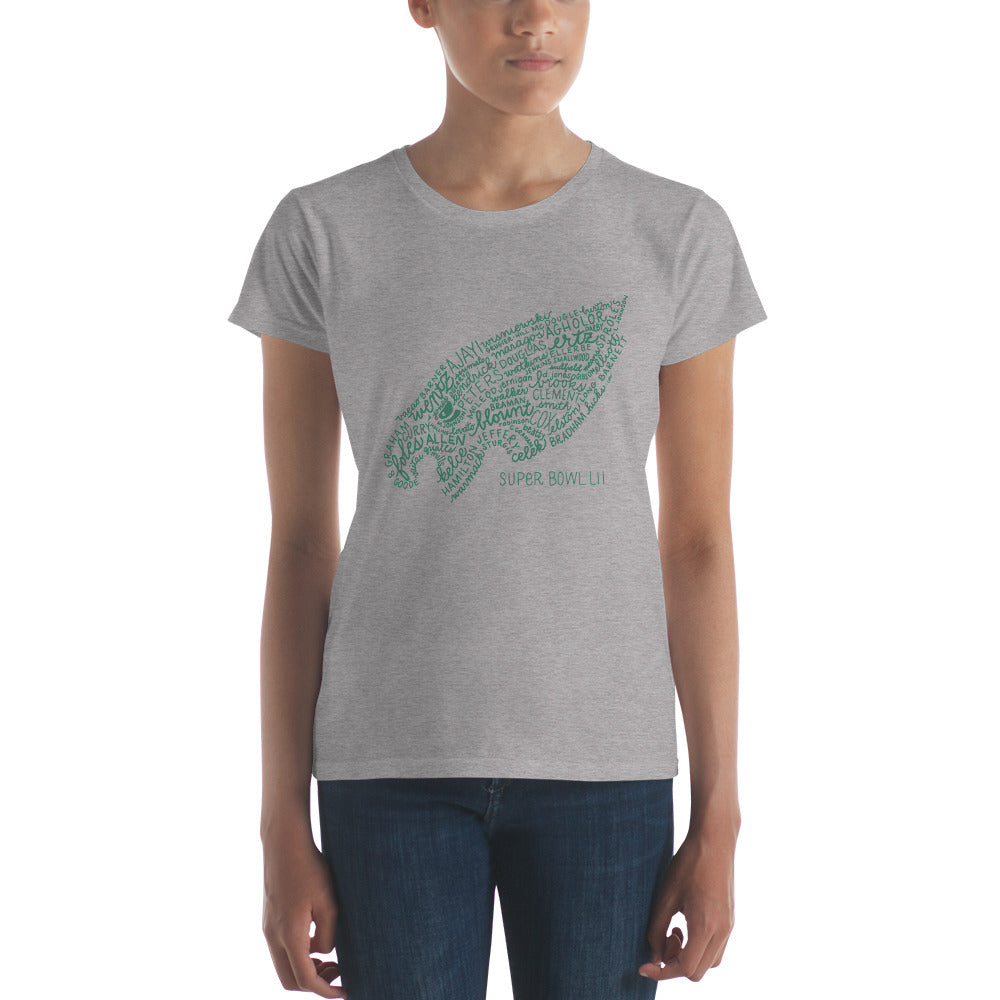 IN STOCK NOW in limited sizes - Philadelphia Eagles T-Shirt (Super Bowl LII team) - Women's Sizes