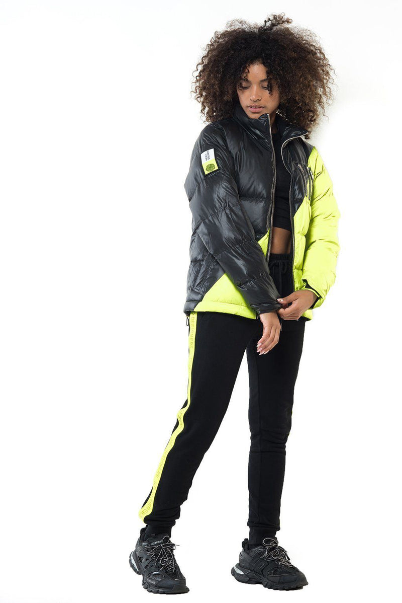 MIDDLE BLACK-NEON YELLOW (F) - THE NEW DESIGNERS