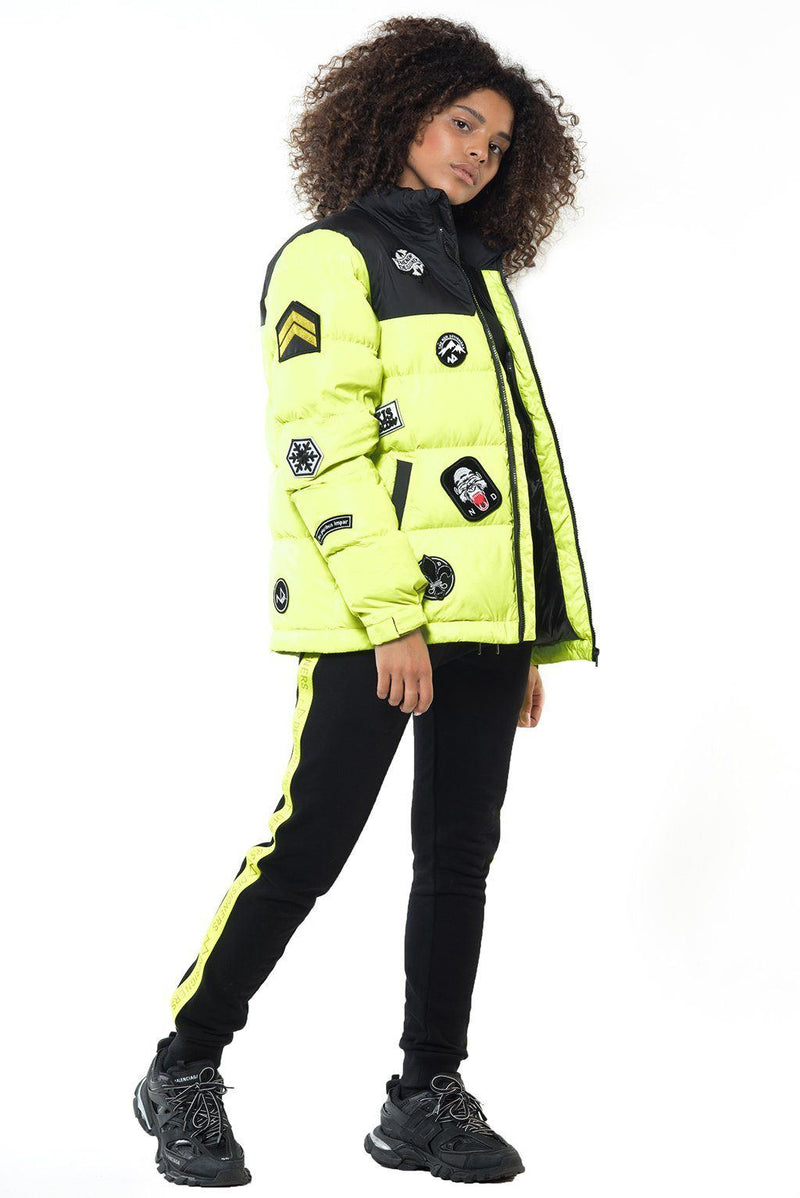 BINKS NEON YELLOW (F) Femme THE NEW DESIGNERS