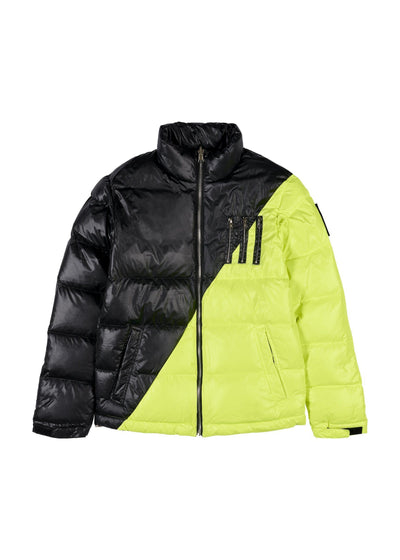 MIDDLE BLACK-NEON YELLOW (F) Femme THE NEW DESIGNERS Black-Neon Yellow XS