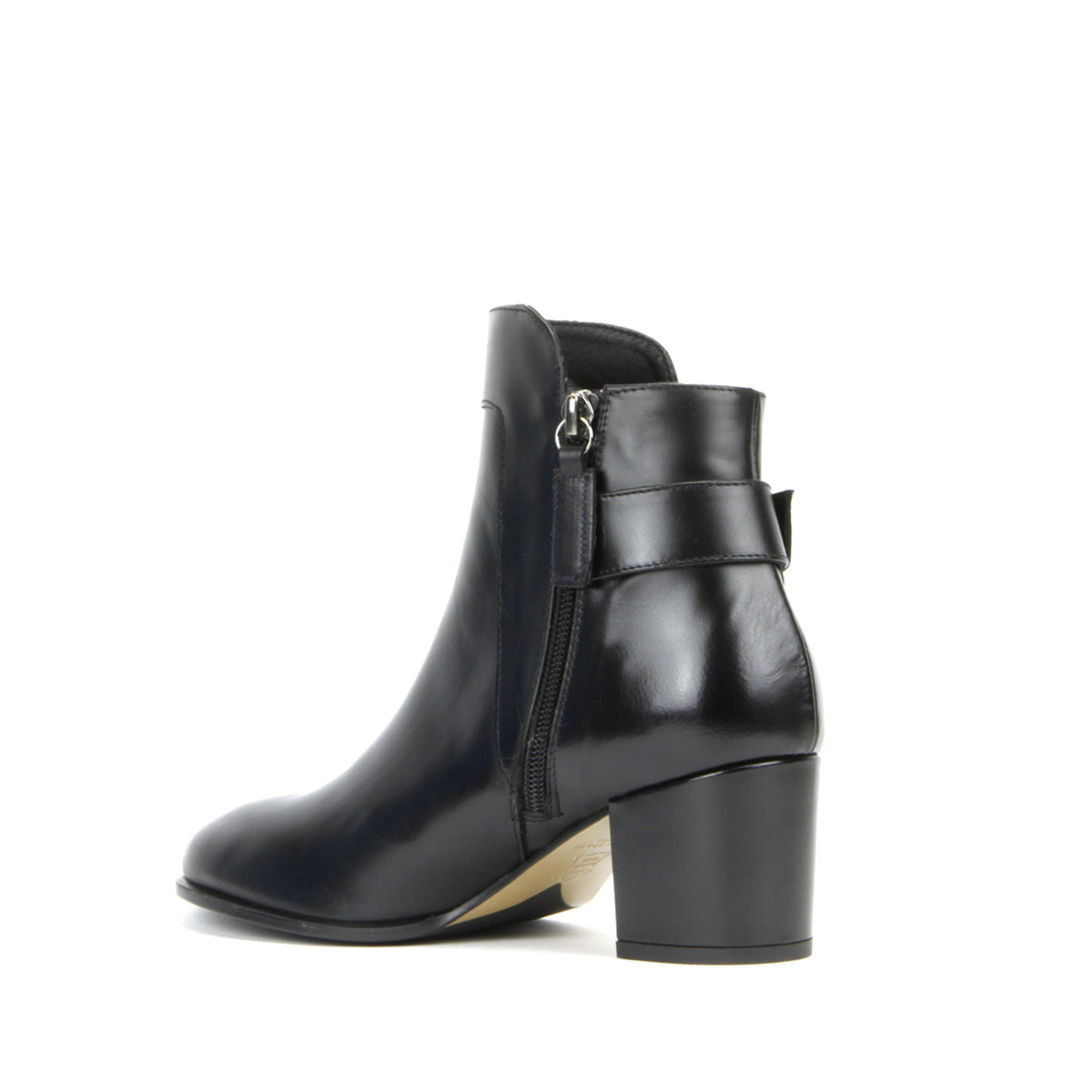 Alex Ankle Boot <b>Black Leather</b>