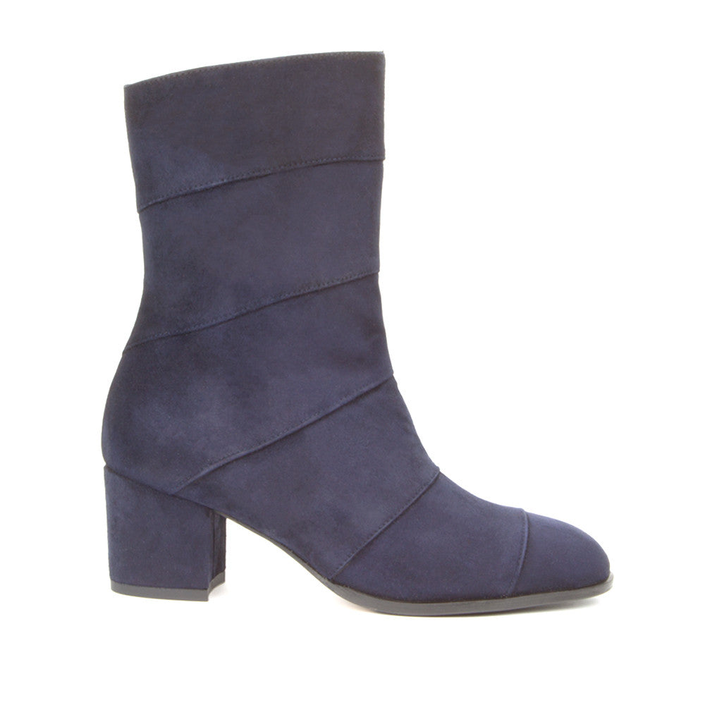 Allegra <b>Navy Blue Suede</b>