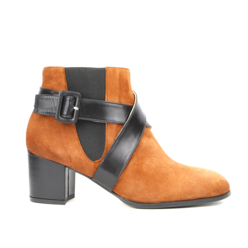 Alma Ankle Boot <b>Tobacco Suede</b>