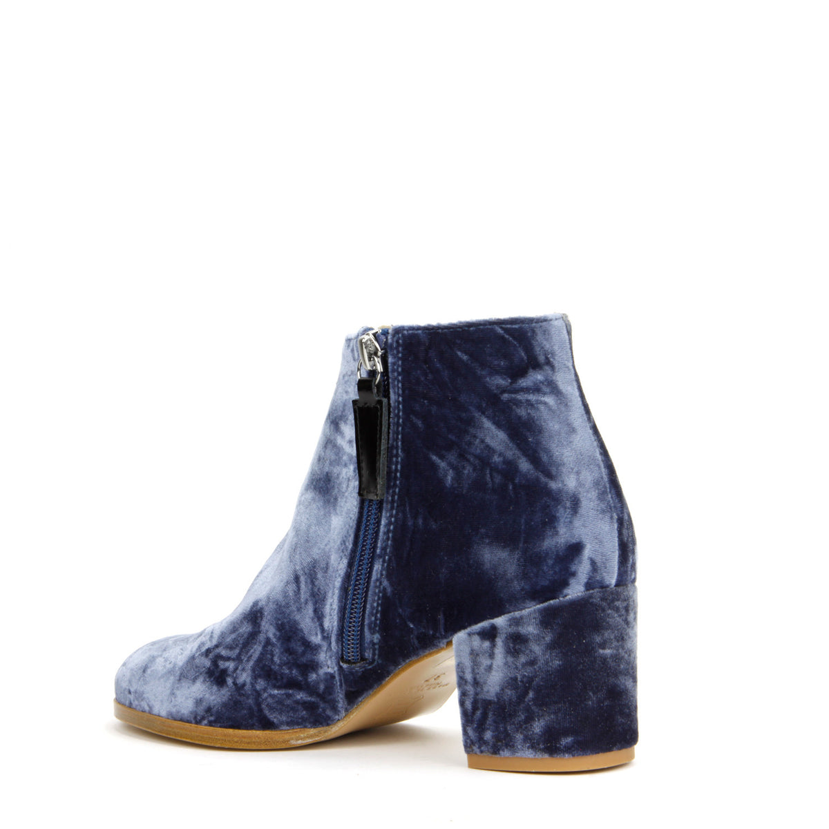 Ana Ankle Boot <b>Blue Velvet</b>
