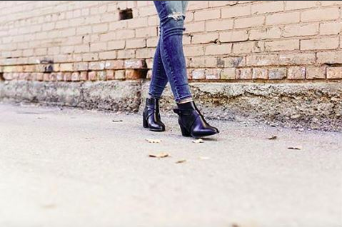 Alma Ankle Boot <b>Black Leather</b>