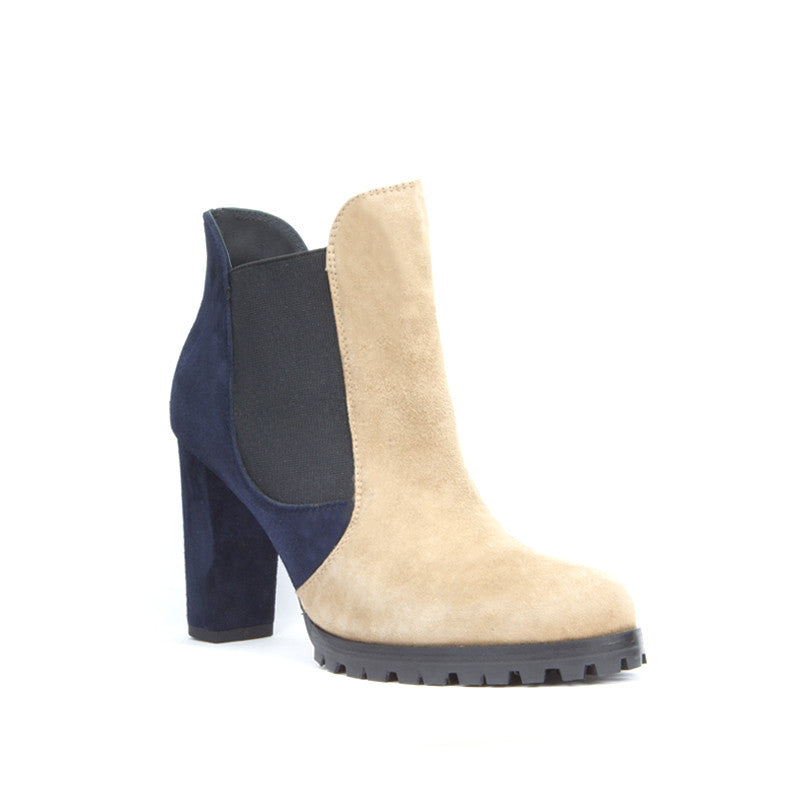 Carmen Ankle Boot <b>Camel and Marino Suede</b>