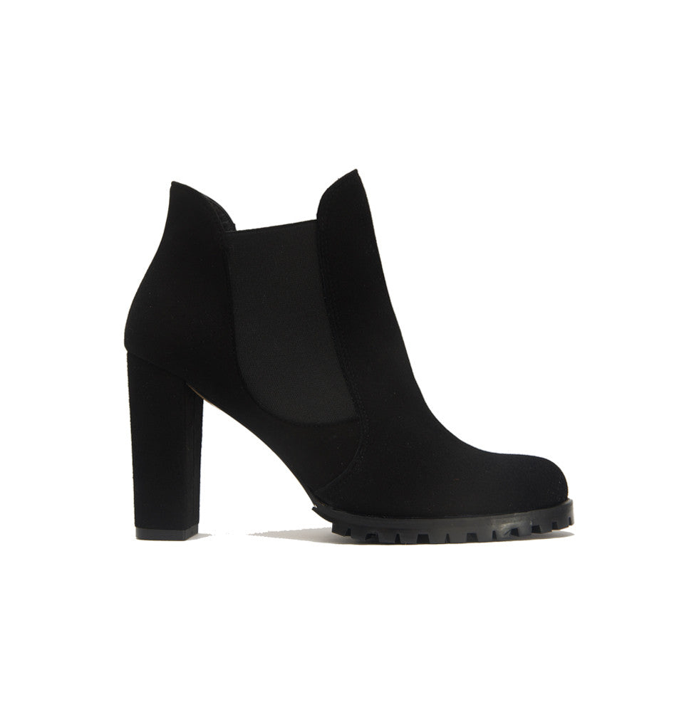Carmen Ankle Boot <b>Black Suede</b>