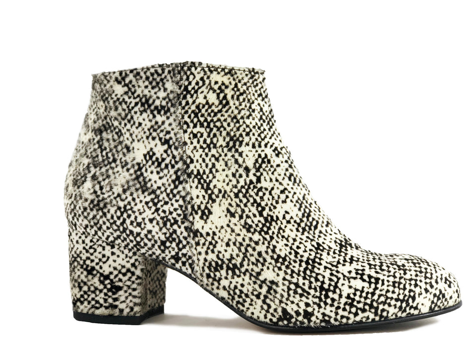 Ana Ankle Boots Animal Print