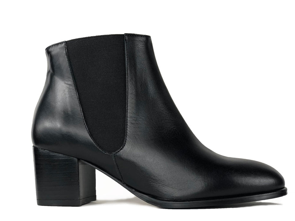 Adele Black Ankle Boots