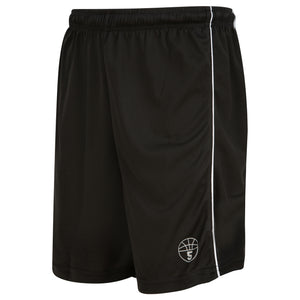 Starting 5 7-inch Inseam Shorts -Black/White