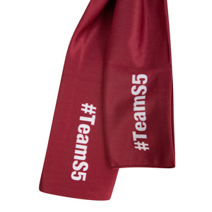 Starting 5 Brand Headband - Maroon