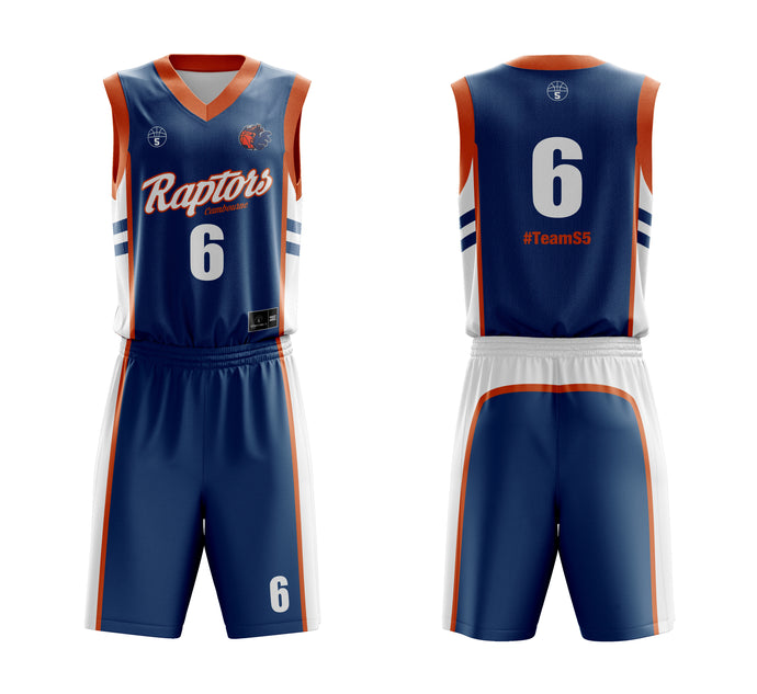 STARTING 5 Sublimated Reversible Kit Example 3