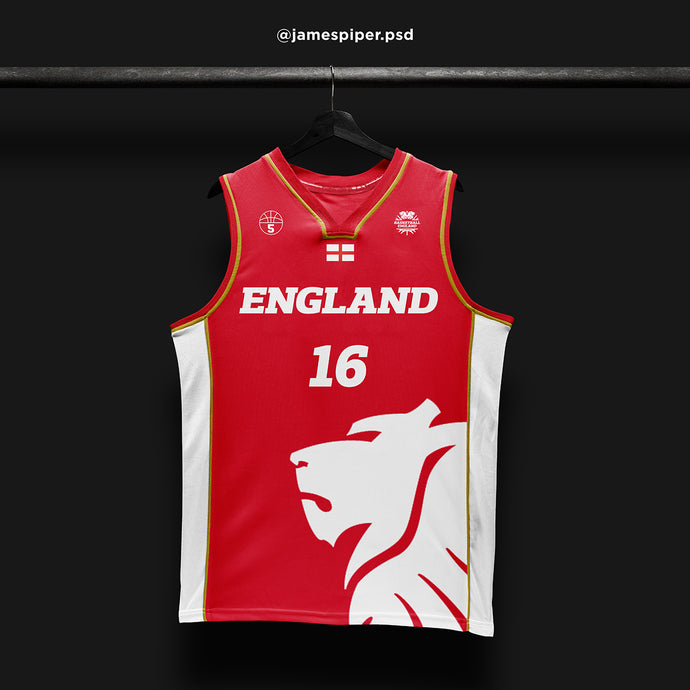 James Piper Design STARTING 5 Made to Order Basketball Kit Single-Sided Example 3