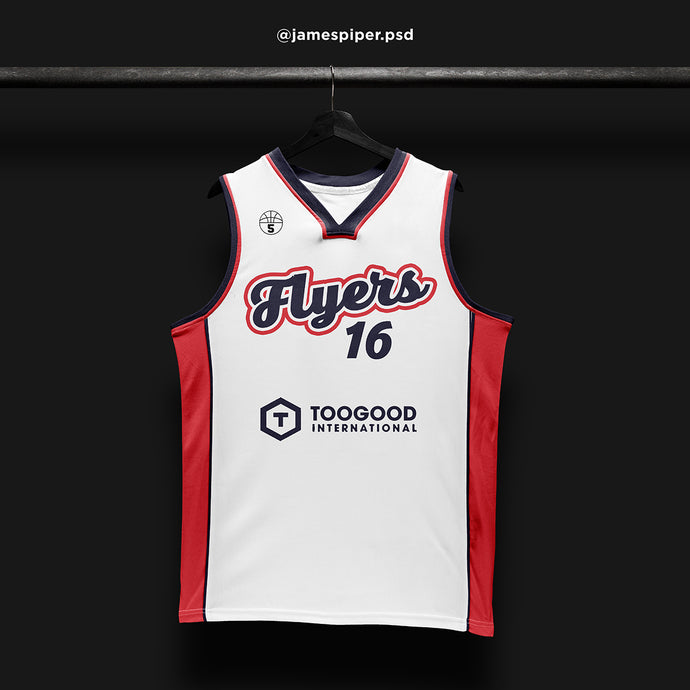 James Piper Design STARTING 5 Made to Order Basketball Kit Single-Sided Example 5
