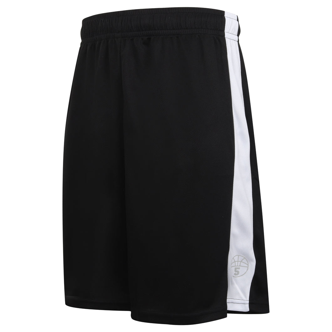 Starting 5 Pelham Basketball Shorts Black/White