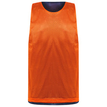 Load image into Gallery viewer, Manhattan reversible training vest Navy/Orange