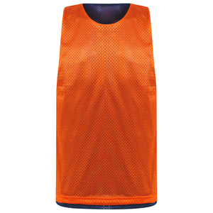 Manhattan reversible training vest Navy/Orange