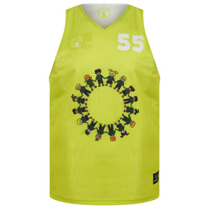 STARTING 5 Sublimated Mesh Reversible Training Vest - Example 3