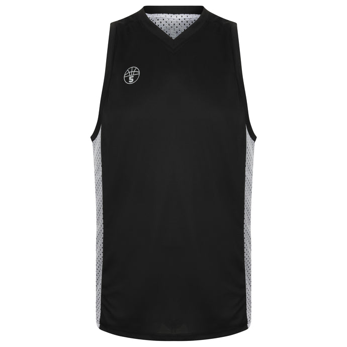 Franklin Reversible Basketball Playing Kit Black/White