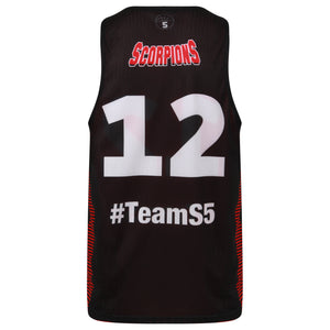 STARTING 5 Sublimated Mesh Reversible Training Vest - Example 2