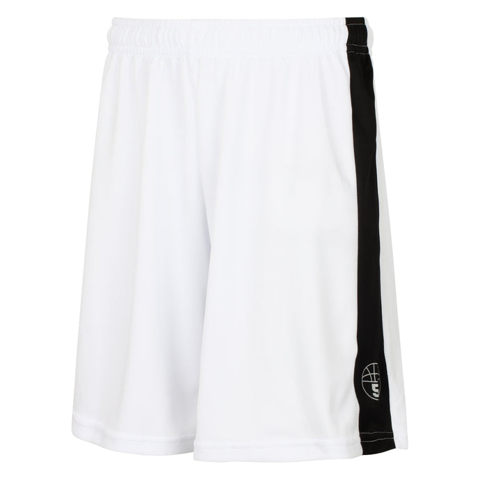 Starting 5 Pelham Basketball Shorts White/Black
