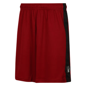 Starting 5 Pelham Basketball Shorts Burgundy/Black